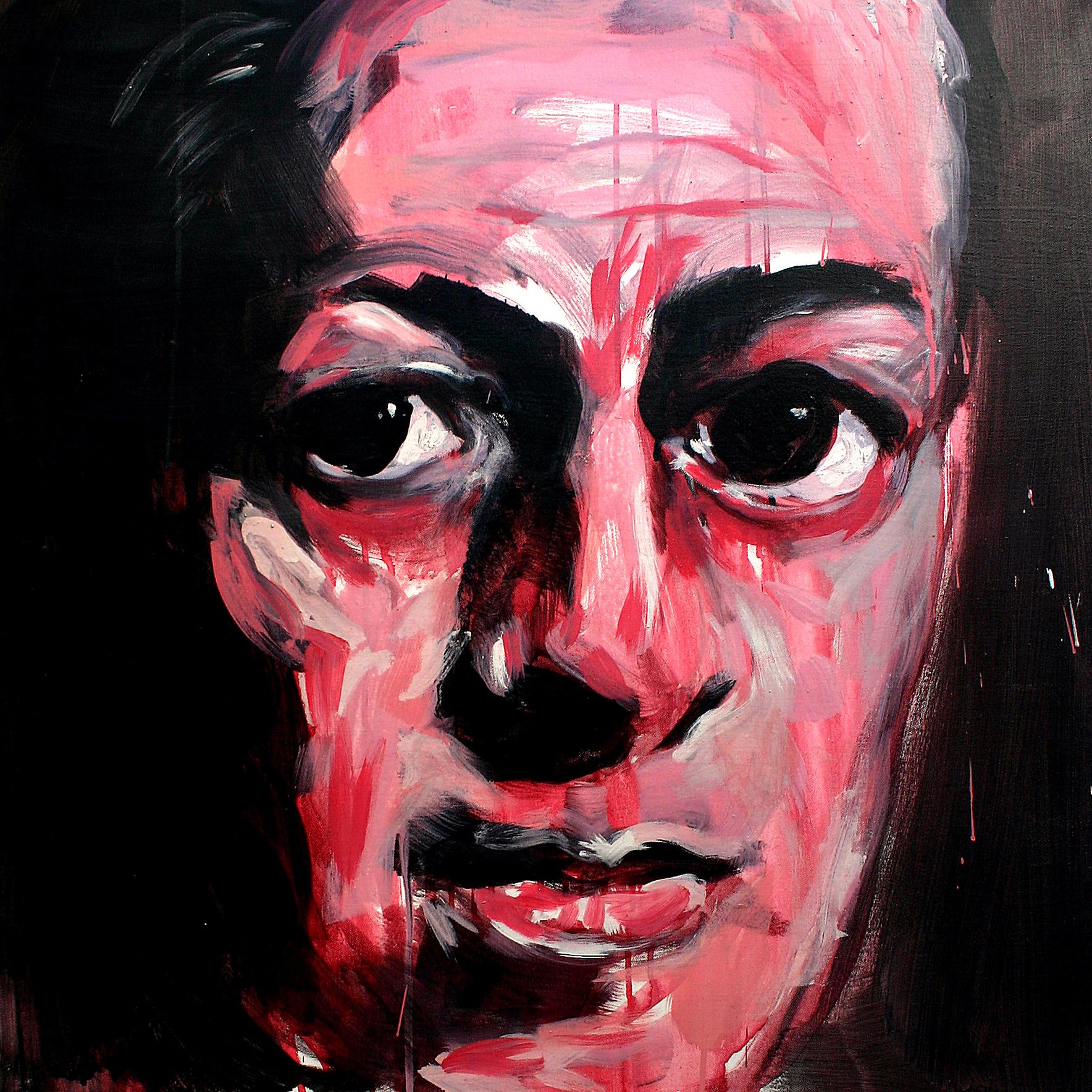 Schriftsteller porträts malerei Axel Plöger
